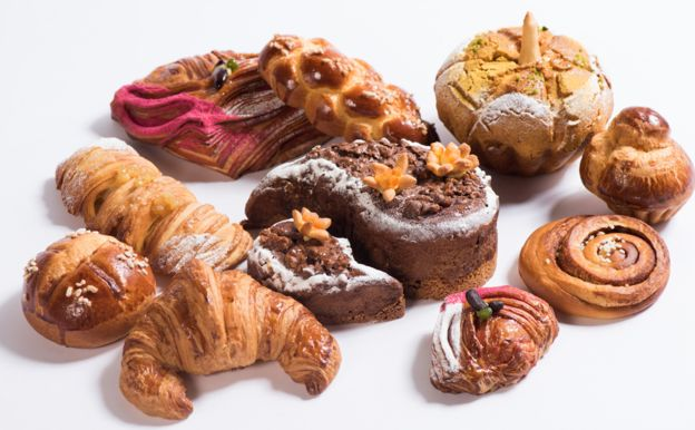 Baked goods made by the South Korean team